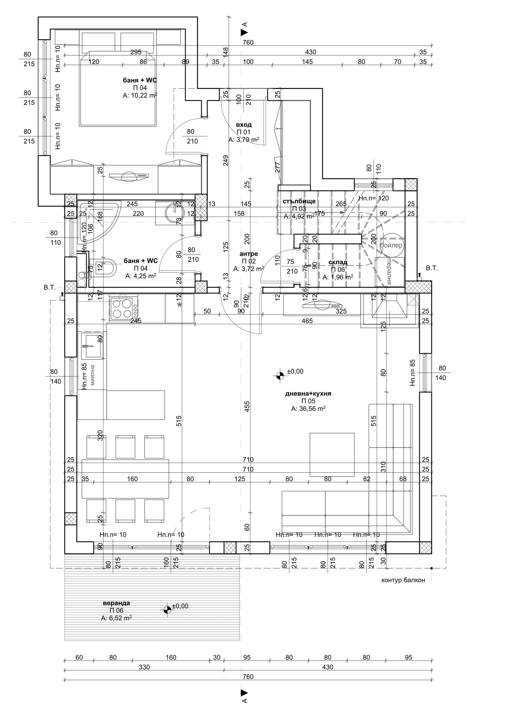 2021 Villa Typ D Erdgeschoss
